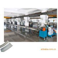 PVC塑筋螺旋增强管挤出机、螺旋硬管挤出机、塑筋增强管机器