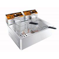 汇利 HY-83电炸炉 单缸双筛电热炸炉 油炸锅 电炸锅 电炸炉 新款