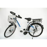 飞锂/FLIVE新款电动车 锂电池自行车单车 铝合金车架中置电机 桑顿36V26寸 预售款