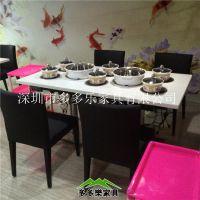 四川火锅桌|简约火锅桌|自助餐厅火锅店火锅桌|多多乐小火锅桌椅