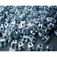 【热镀锌钢丝绳夹头的尺寸型号】元隆紧固件制造有限公司