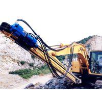 钻孔机改化、挖机改液压钻机品牌型号