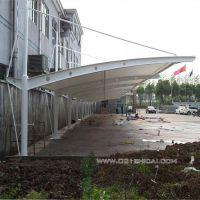 膜结构小车停车棚/膜材批发/学校自行车棚雨棚