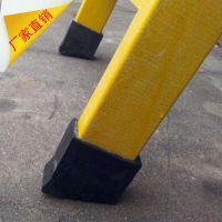 玻璃钢梯子配件|绝缘梯防滑脚垫|25-80树脂圆管管材