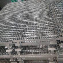 防滑钢格栅,齿形防滑钢格栅平台,平台格栅盖板