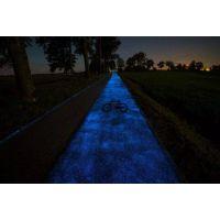 地坪道路装饰用天蓝夜光粉
