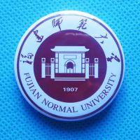 北京学校新生胸徽,大学校标,金属校微厂家