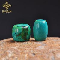 热销 绿松石藏式桶珠佛珠手串手工DIY饰品配件材料 批发供应