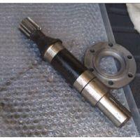 塑料挤出机配套ZLYJ225-12.5硬齿面齿轮减速机及高速轴配件