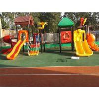 供应幼儿园组合滑梯、米奇妙塑料桌子-石家庄俊杰玩具店