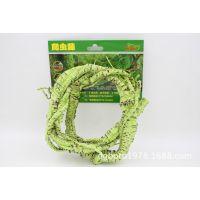 蜥蜴变色龙爬虫箱热带雨林造景材料仿真植物藤条树藤藤蔓枯藤