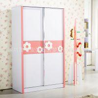 厂家直销高档儿童家具 儿童趟门衣柜 移门衣厨 套房衣柜 欢迎订购