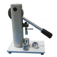 xt13765量热仪压饼机/苯甲酸片压样机/煤炭化验苯甲酸煤样压片机