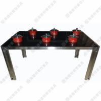 玻璃火锅桌促销 韩式电磁炉火锅桌 一人一锅小火锅桌 多人位餐台 批发定做
