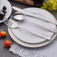 厂家特价促销 骏泰304不锈钢餐具 外贸原单 不锈钢西餐具 开业典礼