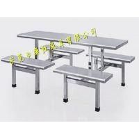 食堂8人餐桌椅/食堂餐桌椅价格/公司食堂餐桌椅尺寸