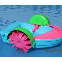 厂家夏日甩卖幼儿儿童手摇船 充气漂流船手摇小船 直销母子手摇船