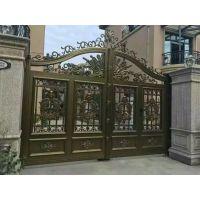 广州铝合金大门厂家供应 铁艺大门 铝艺大门