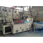 Double / Twin Screw Extruder For PVC Roof Sheet Making Machine 0.3 - 3m / min