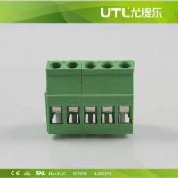 厂家供应 MU2.5VR5.0(5.08) PCB印刷电路板端子 便捷式接线端子