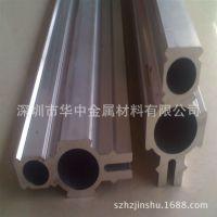 万能双孔型材 加硬6061铝型材 万能铝型材 现货齐全
