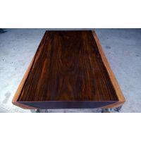 奥坎菠萝格实木大板办公桌老红木苏州哪里有好的根雕茶几 根雕茶桌卖菠萝格价格花梨木家具价格