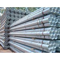q235薄壁大棚管 镀锌带直缝焊管 小口径厚壁热镀锌钢管