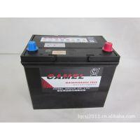 邛崃批发正品骆驼蓄电池.6-QW-60免维护蓄电池,12V60AH汽车电瓶