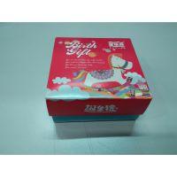 供应高档生日节庆送礼巧克力糖果纸盒 定制食品盒包装