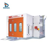 供应标准汽车烤漆房燃油加高温烤喷漆房配件定做烤房广力烤房GL2