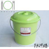 厂家直销豪华防滑桶 带盖/无盖塑料水桶 家用提水桶 热销款式
