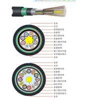 耐斯龙厂家直供16芯多模室外双护套铠装直埋光缆GYTA53-16A1a 可定制