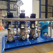 天津生产高效节能不锈钢变频无负压供水设备 厂家