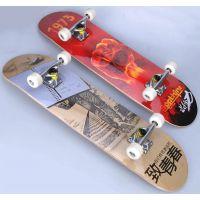 大虫进取型滑板 四轮滑板 公路成人内凹滑板车 活力板 高级漂移板
