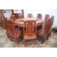 供应福禄寿餐桌厂家直销全实木红木家具