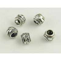 925纯银DIY首饰配件加工生产批发泰银佛珠饰品来图来样设计定制厂