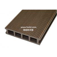 供应绿森林木塑空心地板_户外地板 150×30mm