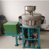 低速研磨面粉石磨机 烟台面粉电动石磨机 鼎信牌家用型