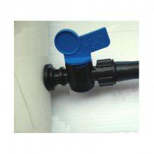 滴灌pvc灌溉管 pvc给水管用16拉环旁通开关安装方法