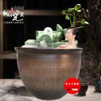 陶瓷泡澡缸洗浴缸 1.2米温泉泡澡缸陶瓷水缸日本极乐汤泡澡缸厂家