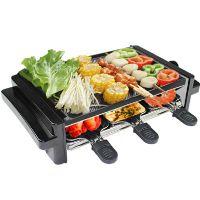 韩式无烟电烧烤炉室内家用电烤炉韩国电铁板烧烤肉盘烤肉机中号