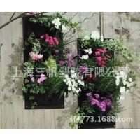 挂式花草袋 定做立体墙面美植袋 厂家订制植物绿化美植袋