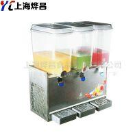 高效冷热双用冷饮机商用果汁机三缸奶茶机