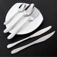 本厂供应不锈钢牛排刀叉  汤勺 西餐优质刀叉餐具 各类厨具用品