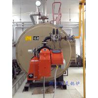 WNS4吨双燃料燃油燃气蒸汽锅炉