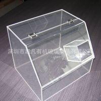 超市休闲食品展示盒亚克力制品厂家 有机玻璃透明散装食品盒定制