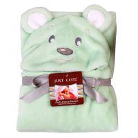 2015婴幼儿披风抱毯婴儿毛毯卡通新生儿造型毯不一样绿熊披风厂家批发