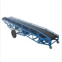 毫州市沙石传送皮带机 小型粮食装车机视频A88