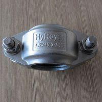 供应庐威304不锈钢拷贝林卡箍 拷贝林 沟槽管件卡箍 哈夫卡箍