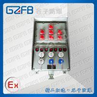 厂家供应直销防爆动力检修电源防爆箱IIB级